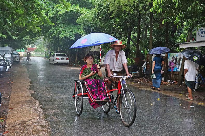 ミャンマーの雨季は「ご法度」だらけ。引っ越しも結婚もダメ、できれば ...